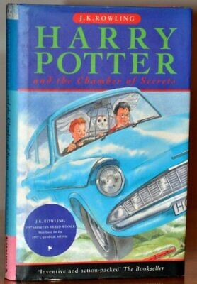 Harry Potter and the Chamber of Secrets by J K Rowling Book The Cheap Fast Free