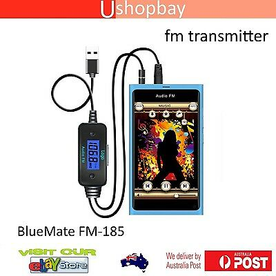 FM Transmitter Micro Usb Audio Handsfree Samsung Android Phone with 3.5mm Jack