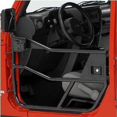 Jeep CJ CJ7 CJ8 Wrangler YJ Halbtüren Element Satz HighRock Satin schwarz 80-95