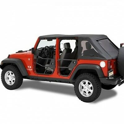 Jeep Wrangler JK 4türer Element Doors Türelement Halbtür Halbtüren hinten HighRo