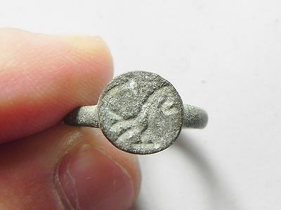 Zurqieh -Aa1945-  Ancient Near East - Roman Bronze Ring 200 A.d