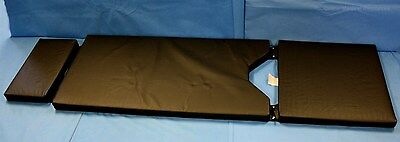 Profex 3 Section Panel OR Surgical Table Pad Amsco 1080 2080 Narrow Headrest NOS