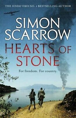 Hearts of Stone, Scarrow, Simon Book The Cheap Fast Free Post