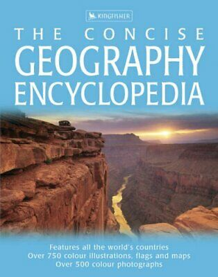 Concise Geography Encyclopedia Hardback Book The Cheap Fast Free Post