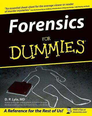 Forensics for Dummies by Lyle, Douglas P. Paperback Book The Cheap Fast Free