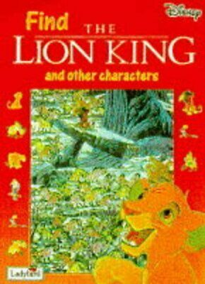 Lion King (Look & Find) Book The Cheap Fast Free Post