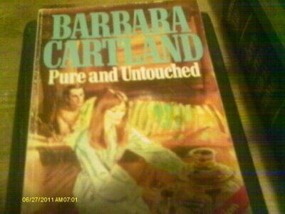 Pure and Untouched by Cartland, Barbara Paperback Book The Cheap Fast Free Post