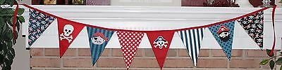 Pirate Pennant Banner Flags