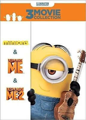 Despicable Me 3-Movie Collection [New DVD] 3 Pack, Snap Case