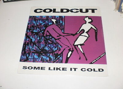 COLDCUT - SOME LIKE IT COLD - LP MADE IN UK 1990 Ahead Of Our Time – NUOVO! NEW