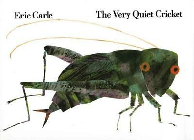 The Very Quiet Cricket - Carle, Eric - New School And Library Book