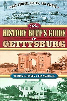 The History Buff's Guide To Gettysburg - New Paperback Book