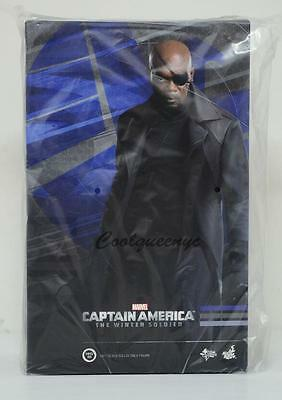 Hot Toys 1/6 Scale MMS315 Captain America The Winter Soldier Nick Fury Figure