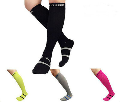Outdoor Sport Leg Support Compression Sleeve Anti Fatigue Muscle Socks Running