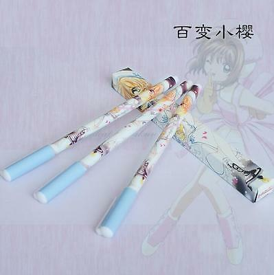 3PCS x Japan Anime Card Captor Sakura Kinomoto Sakura Ballpoint Pen New in Box