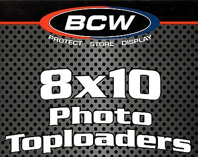 30 8X10 Top Load Holders Photo Toploaders Protectors BCW