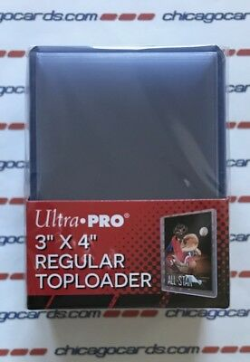 (25) Ultra Pro Regular Toploader Trading Cards Sports Cards Holder Crystal Clear