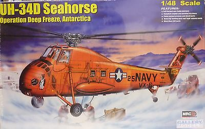 MRC Gallery Models 1/48 UH-34D Seahorse Antartica Rescue Helicopter 64106