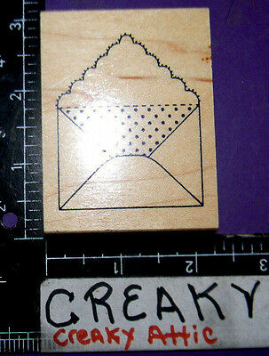 Envelope Small Scalloped Rubber Stamp Great Impressions E535