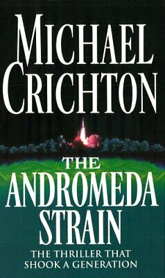 The Andromeda Strain by Michael Crichton Paperback Book