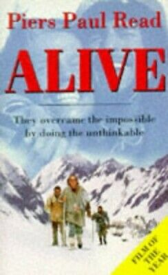 ALIVE The Story of the Andes Survivors by Read, Piers Paul Paperback Book The
