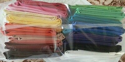 20 fat quaters, solid 100% cotton, mix match, 5yds total,free shipping