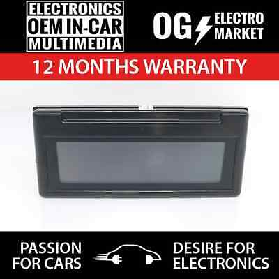 Volvo S40 V50 Central Info Display Lcd Monitor Écran 30797719 A555G 69199-100