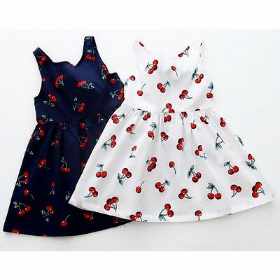 Toddler Kids Baby Girls Summer Princess Dress Party Wedding Pageant Dresses