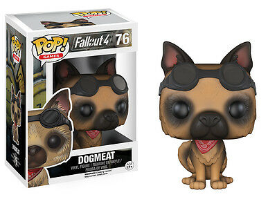Funko Pop Games - Fallout 4: Dogmeat Vinyl Action Figure 76 Collectible Toy 7788