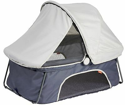 Diono Dreamliner Portable Lightweight Baby Travel Bassinet Sleep Bed Grey NEW