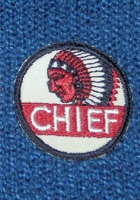 "2"" CHIEF GASOLINE Uniform/Hat PATCH -N.O.S- WASHINGTON, IDAHO, OREGON, MONTANA"