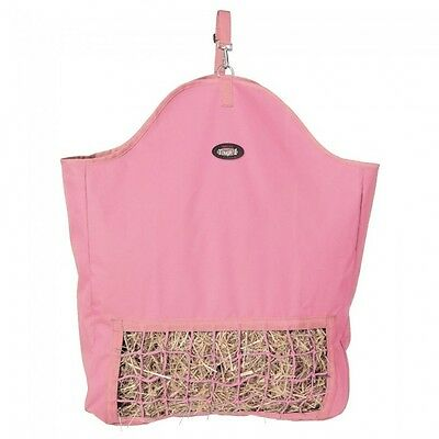 Tough 1 pink slow feed hay pouch horse tack equine 72-1801