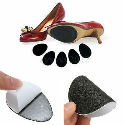 5 Self-Adhesive Anti-Slip Stick on Shoe Grip Pads Non-Slip Rubber Sole Protector