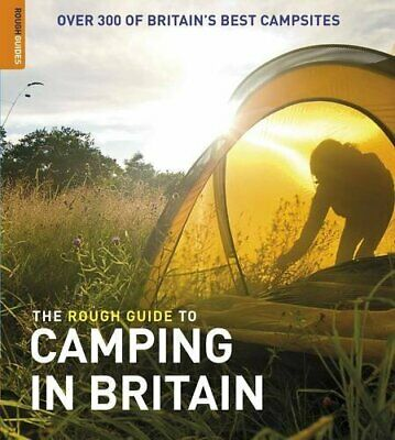 The Rough Guide to Camping in Britain by Rough Guides Paperback Book The Cheap