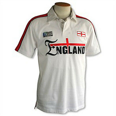Official Rugby World Cup 2011 England Supporters Jersey XS rrp£50