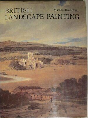 British Landscape Painting by Rosenthal, Michael Hardback Book The Cheap Fast