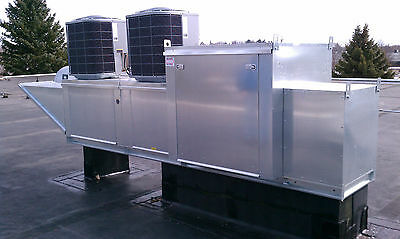 Make Up Air Unit with Modular Package Heat & A/C Cooling 4200 New with Warranty