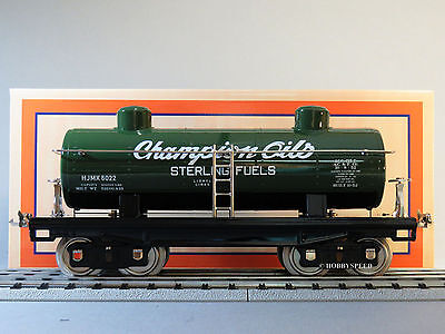 Mth Lionel Corp Tinplate Std Gauge Sterling Fuels 2 Dome Oil Car 11-30205 New