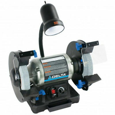 "Delta Woodworking 5.0 Amp 8"" Variable Speed Grinder 23-197 New"