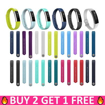 Replacement Silicone Band Strap Wristband Bracelet For Fitbit Alta Small / Large