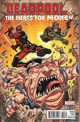 Deadpool & The Mercs for Money No.4 / 2016 Variant Cover Edition