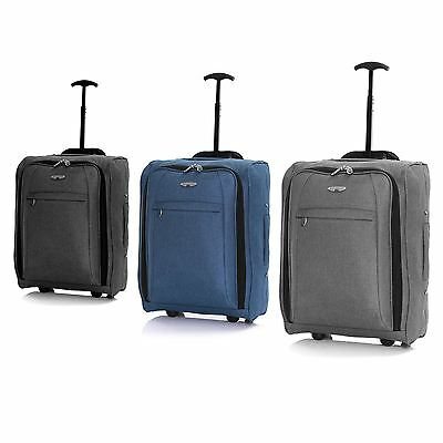 Ryanair Easyjet 50 cm Cabin Approved Flight Trolley Suitcase Luggage Case Bag