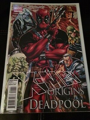 X-Men Origins Deadpool One Shot Marvel Comics Movie