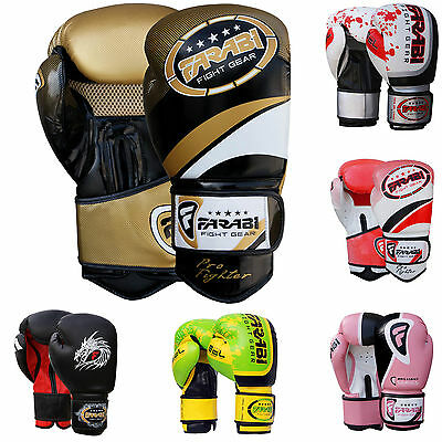 Farabi Boxing Gloves Sparring, Training & Competition Gloves For Adults