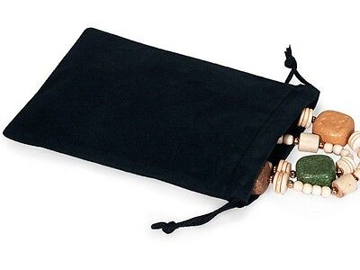 2x2 Jewelry Pouches Velour Velvet Gift Bags Pack of 25 PCS 10 Colors Available