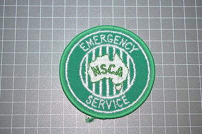 Obsolete NSCA National Safety Council of Australia Patch (B6)