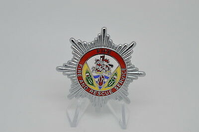 United Kingdom Fife Fire and Rescue Service Badge