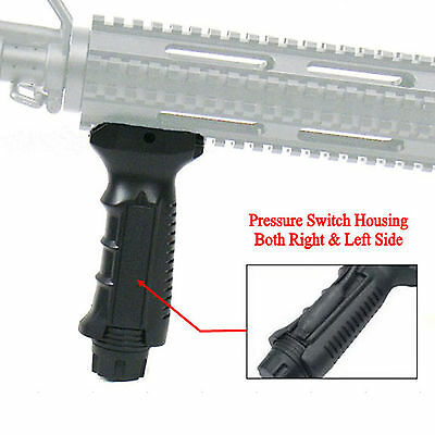 Tactical Ergonomic Vertical Foregrip Grip For 20mm Rail