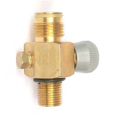 "New paintball CO2 Tank On/Off Valve,fit most of tanks with threads 5/8""-18UNF"