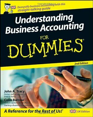 Understanding Business Accounting For Dummies by Tracy, John A. Paperback Book